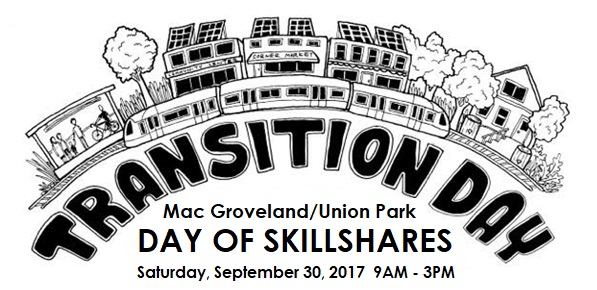 Transition Skillshare Day