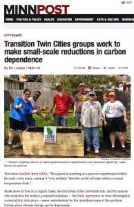 Transition Twin City Article
